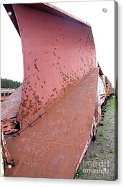 Snowplow2 Acrylic Print by The Stone Age