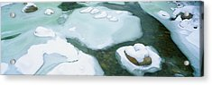 Snowy River In New Hampshire Acrylic Print by Panoramic Images