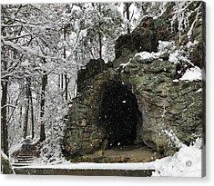 Snowy Torys Den Acrylic Print