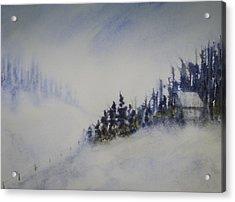 Snowy Winter Acrylic Print