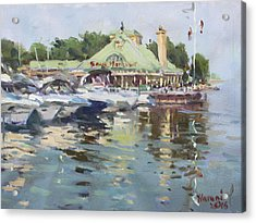 Snug Harbour Mississauga On Acrylic Print