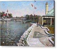 Snug Harbour Restaurant Acrylic Print