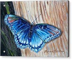 So Blue Acrylic Print