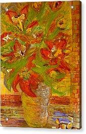 So Bright Acrylic Print by Anne-Elizabeth Whiteway