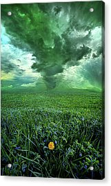 So Do Not Fear For I Am Always With You Acrylic Print by Phil Koch