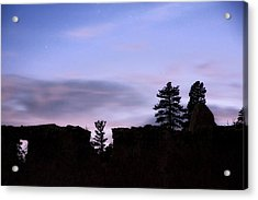 So It Began Acrylic Print by Mike McMurray