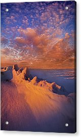So It Begins Acrylic Print by Phil Koch