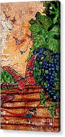 So Long And Thanks For All The Grapes Acrylic Print by Ron Carter