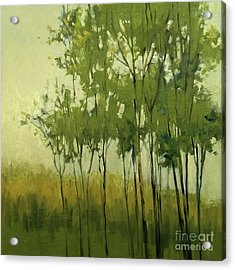 So Tall Tree Forest Landscape Painting Acrylic Print