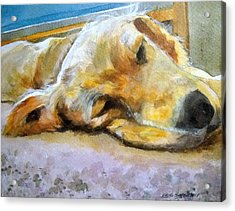 So Tired Acrylic Print
