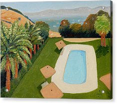 Acrylic Print featuring the painting So Very California by Gary Coleman