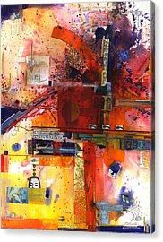 Soapbox Acrylic Print by Chris Monette Appleton
