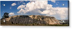 Acrylic Print featuring the photograph Soaring Above Mount Everts by Charles Kozierok