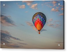 Acrylic Print featuring the photograph Soaring At Sunrise by Rick Berk
