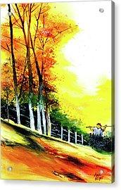 Soaring High Acrylic Print by Anil Nene