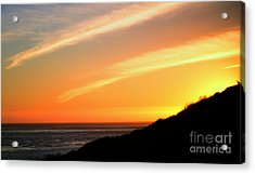 Acrylic Print featuring the photograph Socal Sunet by Clayton Bruster