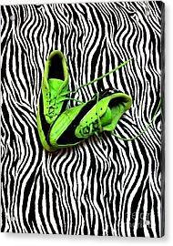 Soccer Girl Acrylic Print