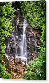 Acrylic Print featuring the photograph Socco Falls by Stephen Stookey