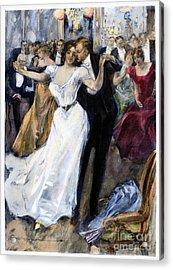 Society Ball, C1900 Acrylic Print by Granger