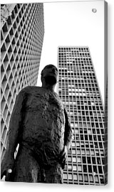 Society Man Acrylic Print by Andrew Dinh
