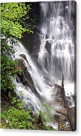 Soco Falls 2 Acrylic Print by Marty Koch