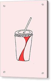 Soda Cup Acrylic Print