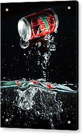 Soda Acrylic Print
