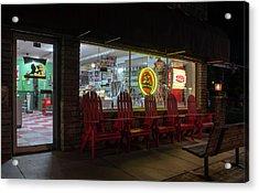 Soda Pops At Night Acrylic Print
