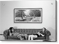 Sofa-sized Picture, With Light Switch, 1973 Acrylic Print