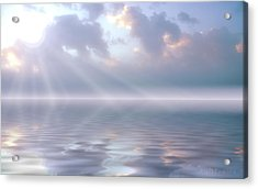 Soft And Sublime Acrylic Print by Jerry McElroy