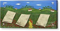 Soft Breeze Acrylic Print