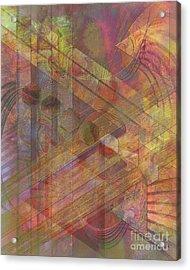 Soft Fantasia Acrylic Print by John Beck