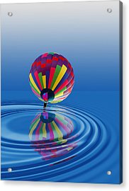Acrylic Print featuring the photograph Soft Landing by Kathleen Stephens