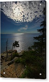 Soft Light On Otter Point Acrylic Print