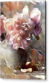 Soft Pastel Peonies Acrylic Print