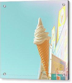 Acrylic Print featuring the photograph Soft Serve by Cindy Garber Iverson