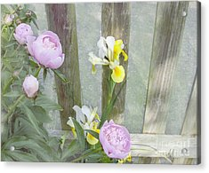 Soft Summer Flowers Acrylic Print