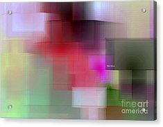 Acrylic Print featuring the digital art Soft View In 3 Stages by Rafael Salazar