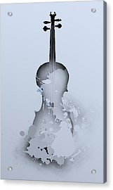Soft Violin Acrylic Print