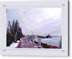 Acrylic Print featuring the photograph Soft Winter Day by Felipe Adan Lerma