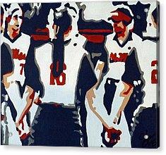 Softball Sisterhood Acrylic Print