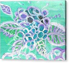 Softly And Tenderly Acrylic Print by Anne-Elizabeth Whiteway