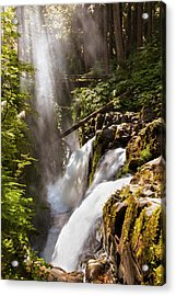 Acrylic Print featuring the photograph Sol Duc Falls by Adam Romanowicz