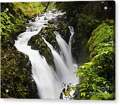 Sol Duc  Falls Washington Usa Acrylic Print