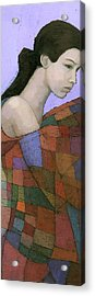 Solace Detail Acrylic Print by Steve Mitchell