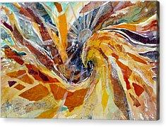 Solar Chakra Meditation Acrylic Print