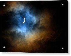 Solar Eclipse 2015 Acrylic Print by Tim Haynes