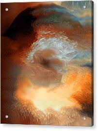 Solar Eruption Acrylic Print by Linda Sannuti
