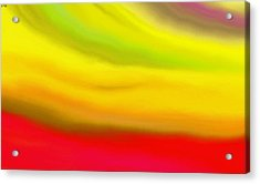 Solar Flare Acrylic Print by Angie Armstrong
