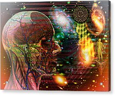 Solar Insight Of Acrylic Print